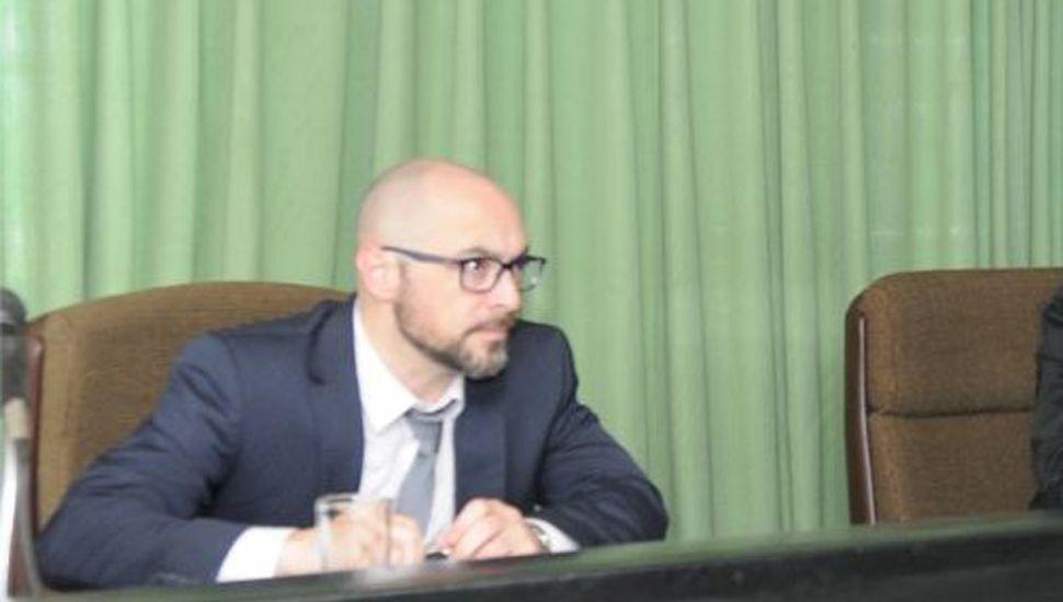Esteban Melilli, presidente del Tribunal Oral en lo Criminal Nº1 de Junín