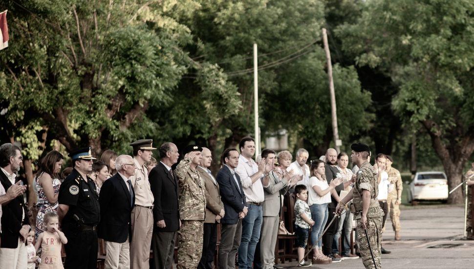 El Grupo de Artillería 10 festejó su 55° aniversario