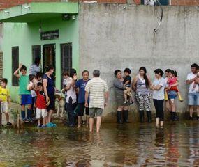 La Matanza: 5.000 evacuados por las inundaciones