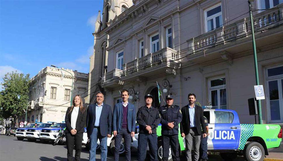 Del acto participaron funcionarios, autoridades judiciales y policiales.