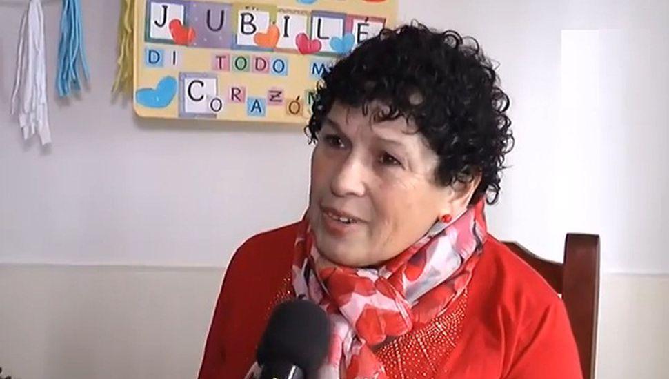 """Tras 22 años de trabajo, se jubiló una de las """"tías"""" del Máximo Gil"""