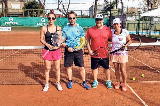 Lucila Boserup, Roberto Salomón, Adrián Robledo y Andrea Lugli.