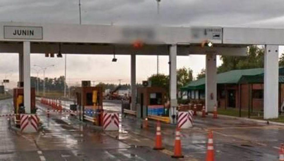 La estación de peaje que actualmente se encuentra en Saforcada será relocalizada cuando se inaugure la autovía.