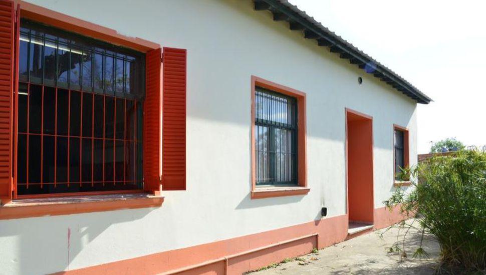 El Renatre finalizó obras en una escuela rural de Saforcada
