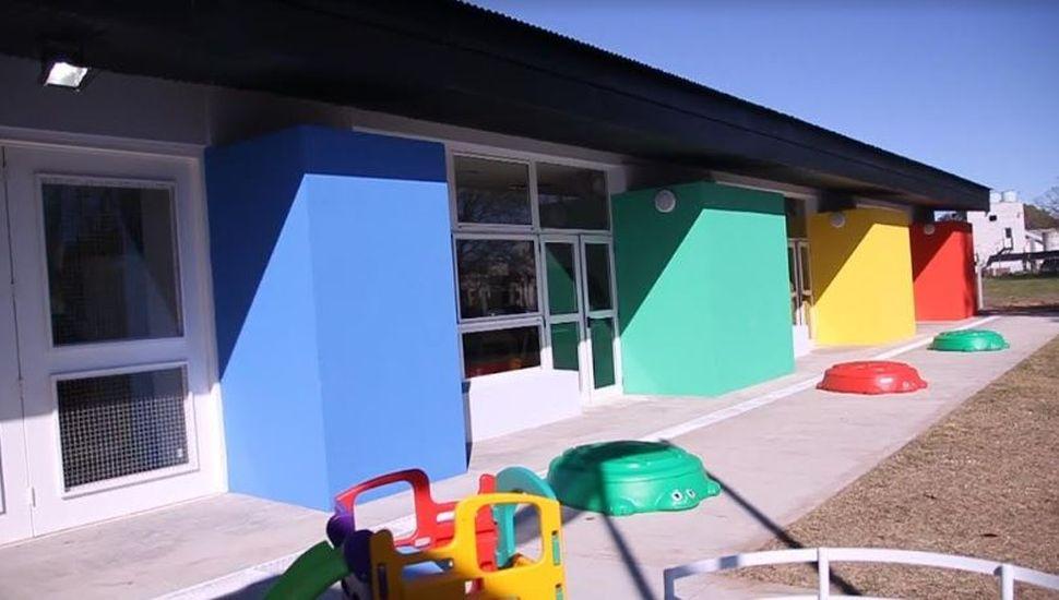 Inauguraron el nuevo Jardín Maternal Municipal N° 2 de General Pinto