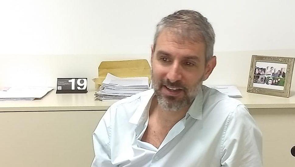 Walter Petrecca, gerente de la UDAI Junín de ANSES.
