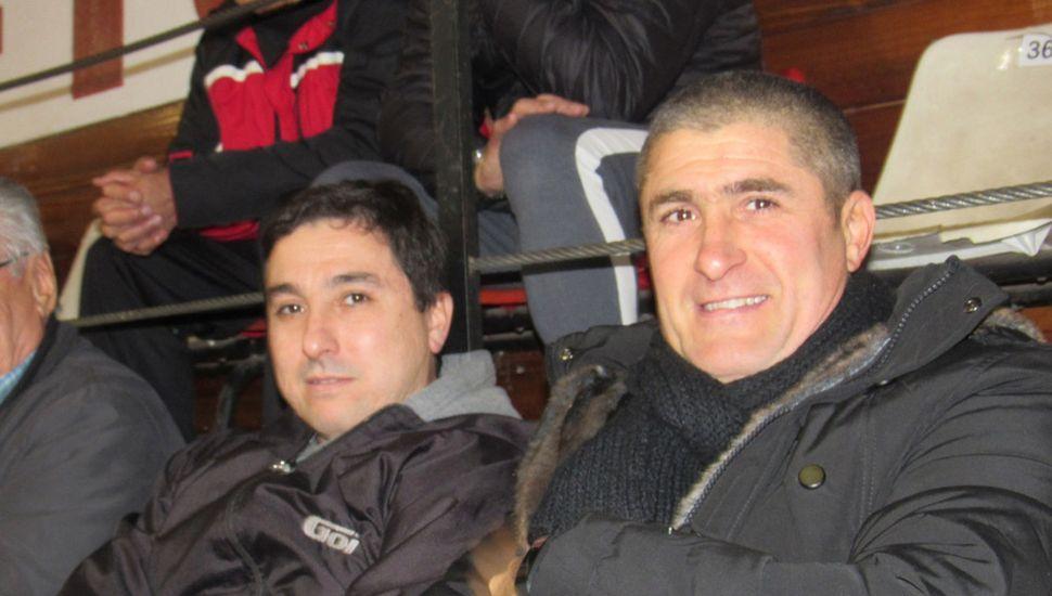 Marcelo Barile y Juan Pablo Pontelli.