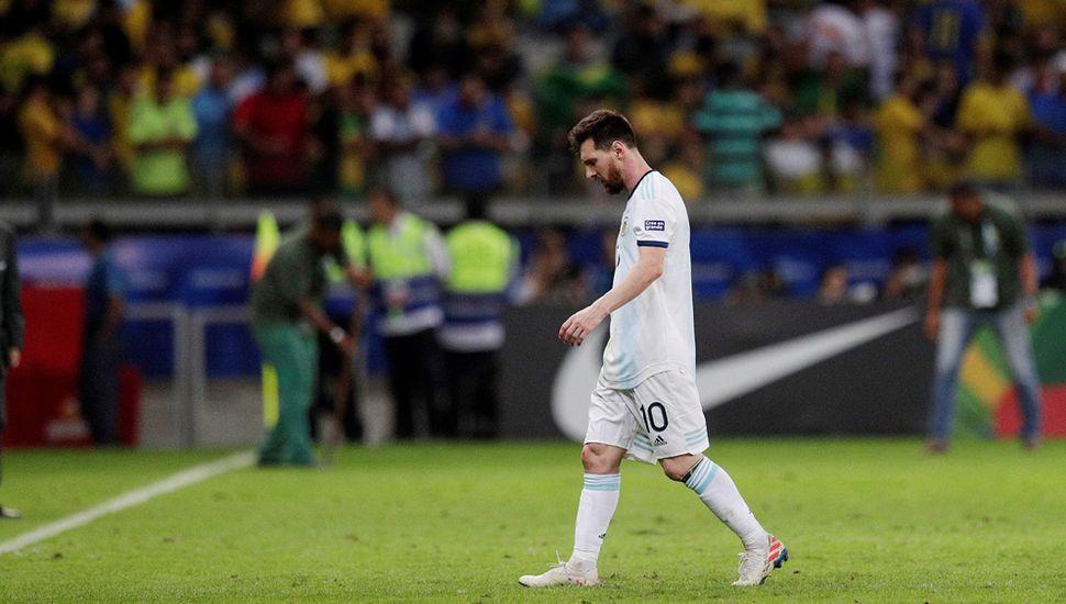 Otra frustración de la Selección Argentina,  al perder con Brasil y quedarse sin la final