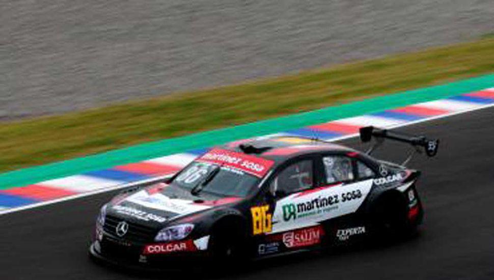 Agustín Canapino hizo el mejor tiempo, ayer en Top Race V-6.