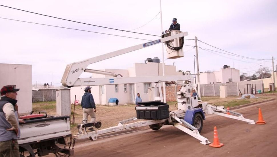 """Guerrera: """"Vamos a dejar la ciudad cabecera con el 100% de iluminación LED"""""""