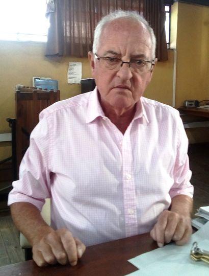 El concejal de Juntos por el Cambio Adrián Feldman, en la redacción de Democracia.