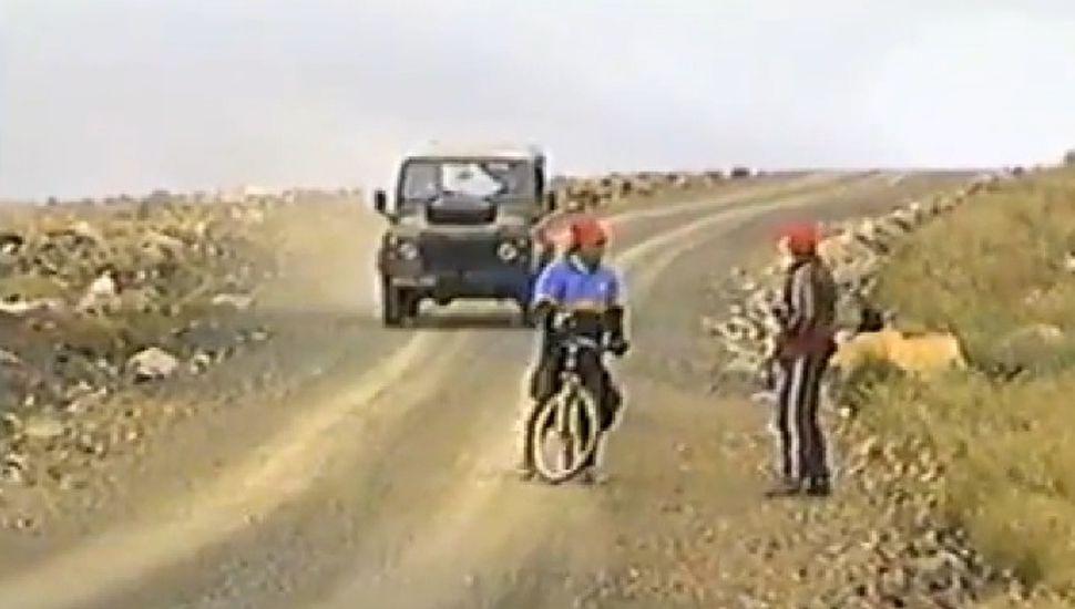 A 20 años de la travesía en bicicleta en las Islas Malvinas