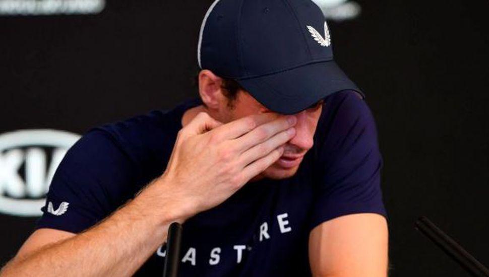 Tristeza en el tenis: entre lágrimas, Murray anunció que se retira este año
