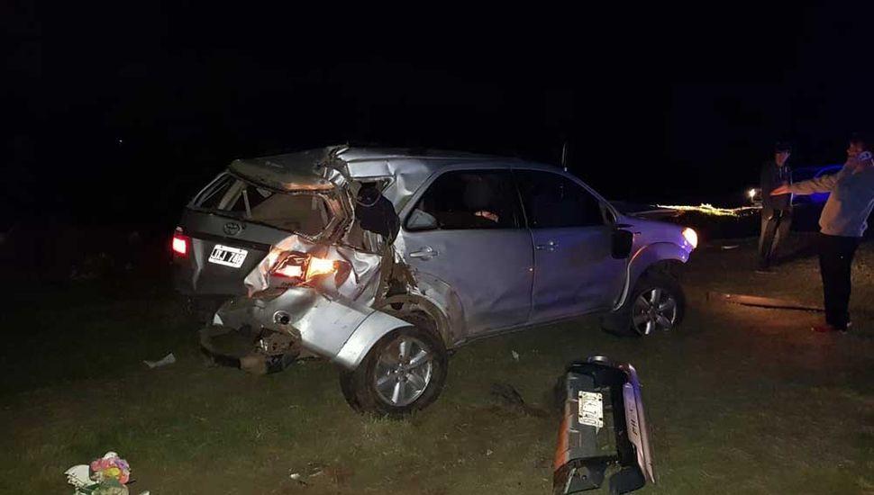 El conductor no sufrió heridas.