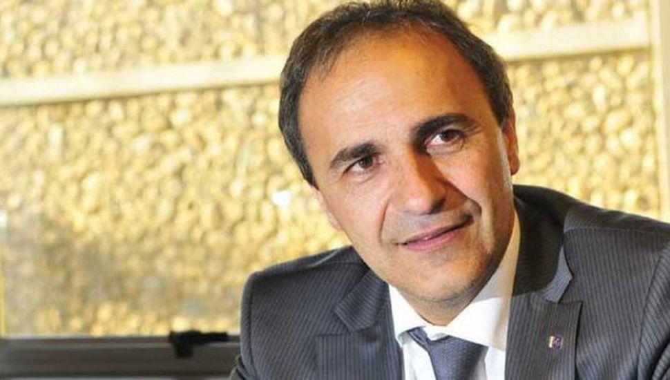 Ricardo Merlo, candidato a senador por el MAIE en Italia.