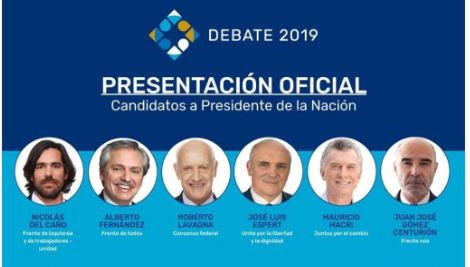 Se conoció quiénes serán los moderadores de los debates presidenciales