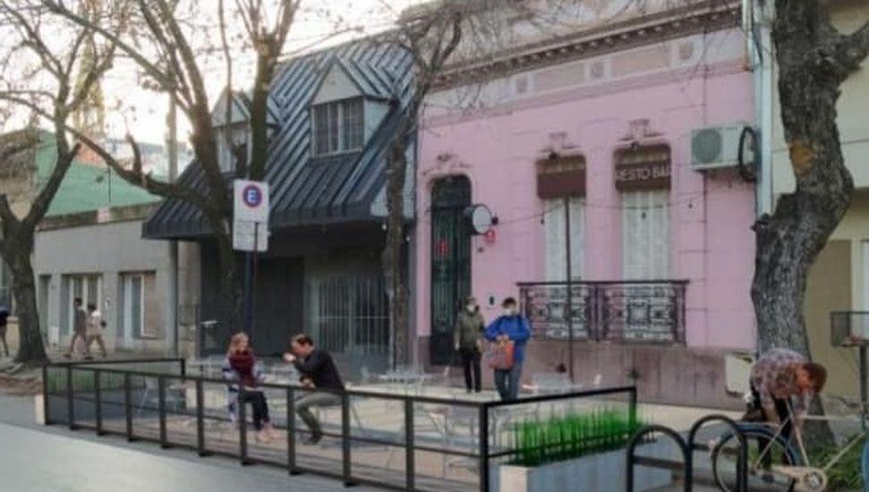 Balcones gastronómicos.