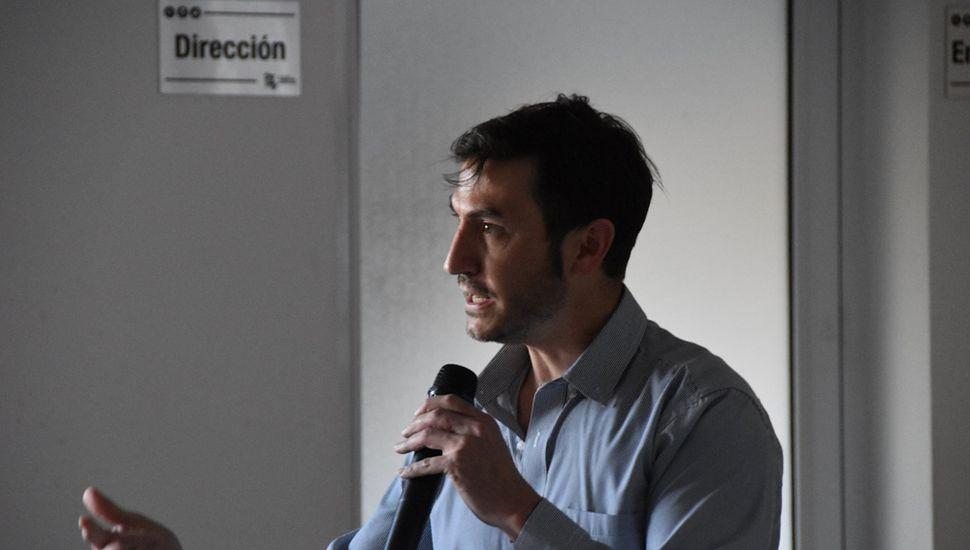 Doctor Eduardo Maffía.