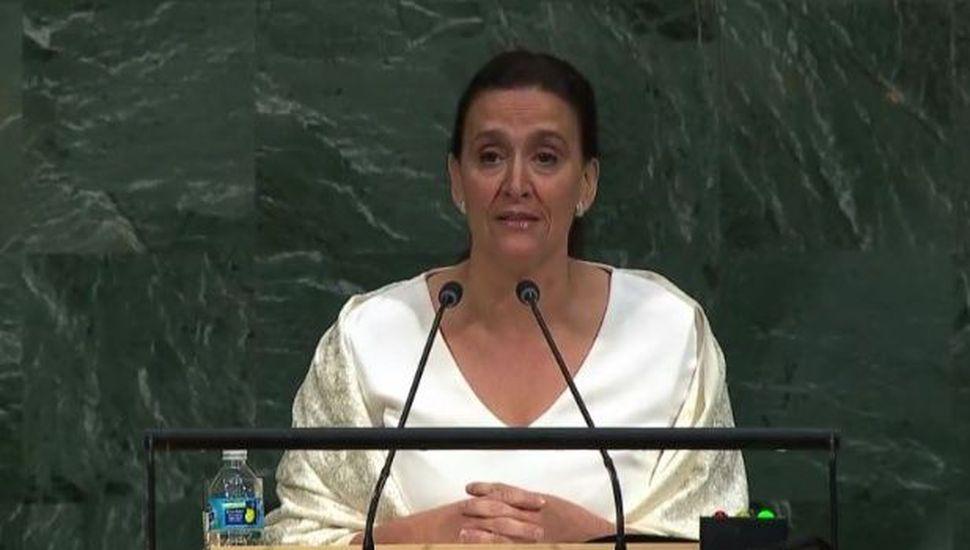 Michetti renovó el reclamo por Malvinas y pidió apoyo para juzgar a los iraníes
