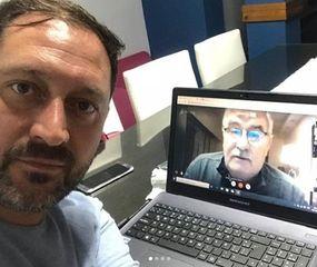 Salvador Serenal y Vicente Gatica.