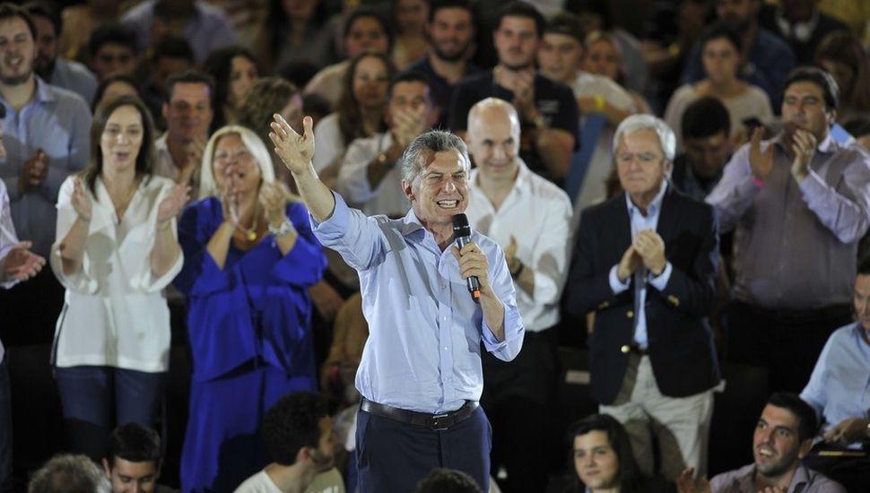 """Macri: """"Los cómplices de la década pasada van a terminar todos presos"""""""