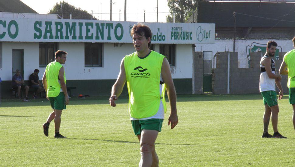 Luis Yamil Garnier, el defensor del Verde, en Ciudad Deportiva.