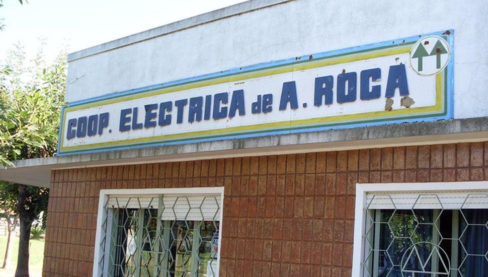 Sede de la Cooperativa Eléctrica y de otros servicios de Agustín Roca.