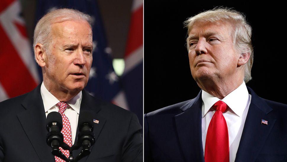El conflicto entre Donald Trump y Joe Biden continúa.