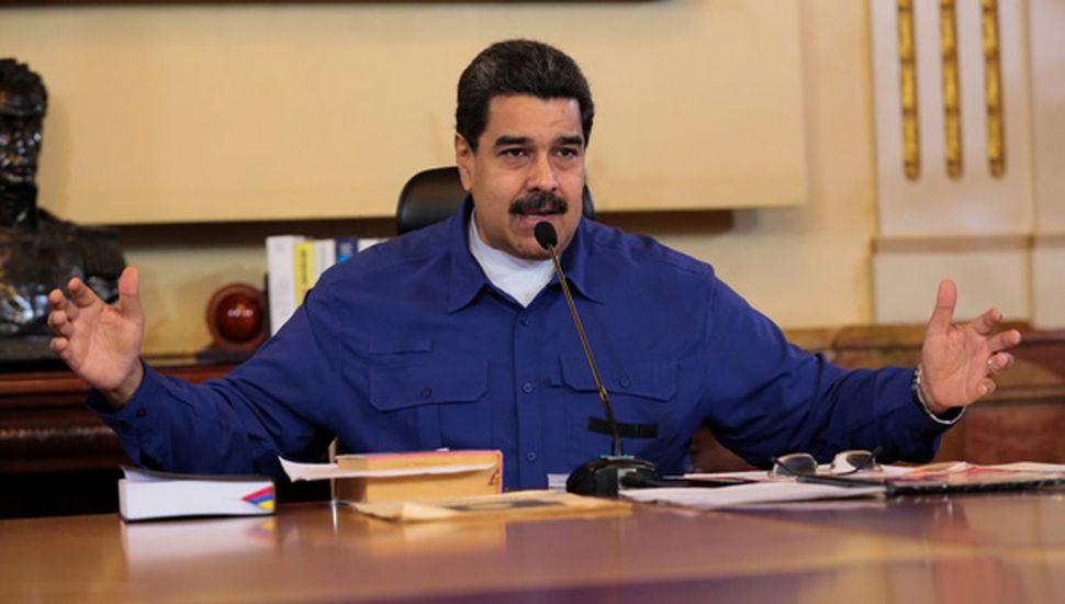 Advertencia  de Maduro