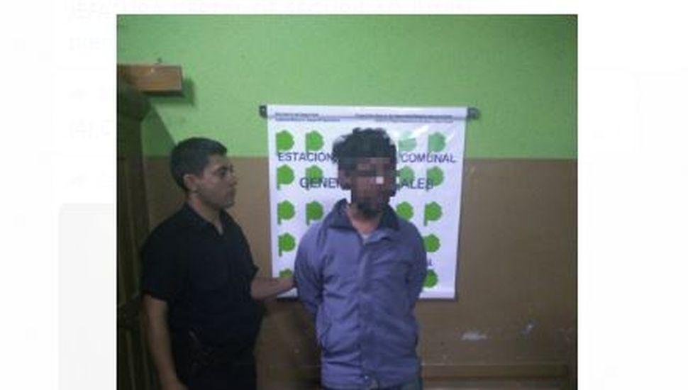 Arenales: Aprehendieron a un hombre que tenía pedido de captura