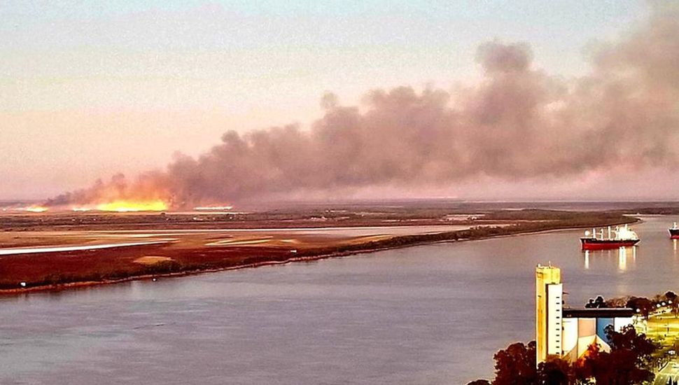 Ya se quemaron más de cinco mil hectáreas de pastizales.