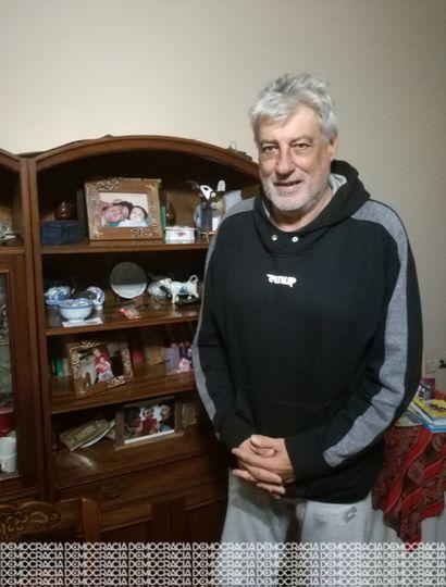 """José Luis """"Tatote"""" Pagella tenía 19 años cuando disputó el Mundial de 1974 con la selección nacional de básquet."""