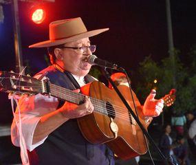 Chacarero cantor, en el cierre del festival.