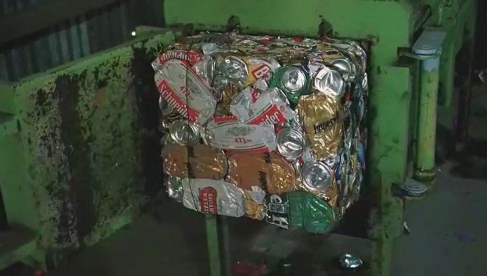 Esta semana comenzó a funcionar la nueva planta de reciclado en Ascensión.