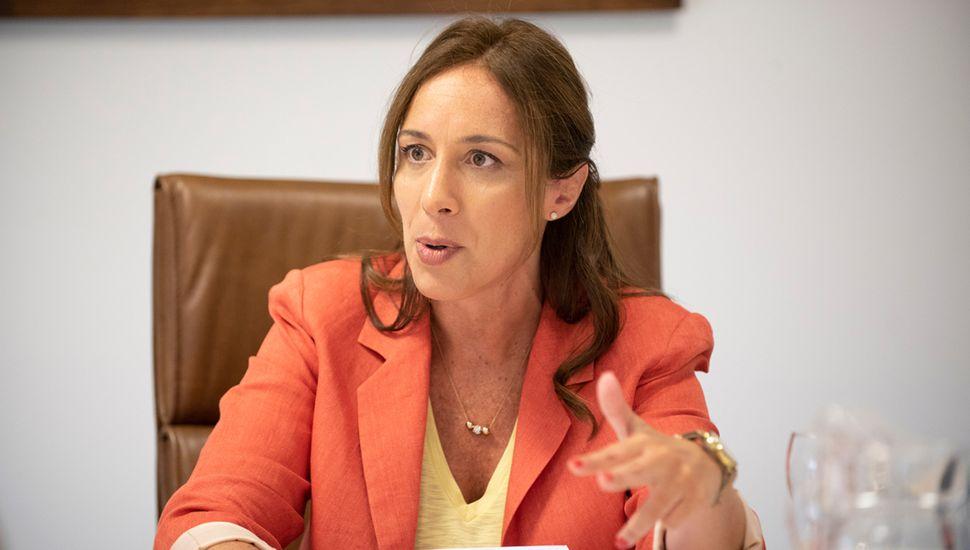 María Eugenia Vidal necesita hacer crecer la intención de voto del presidente Mauricio Macri, que sigue entre 7 y 9 puntos debajo de la fórmula Fernández-Fernández.