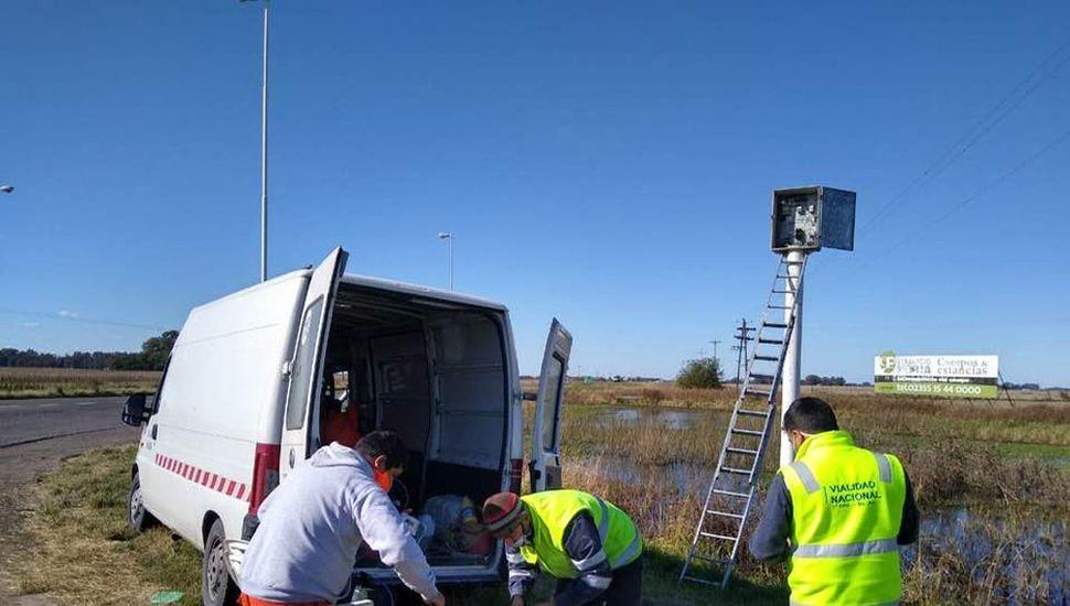 Comenzaron los trabajos de mantenimiento y conservación en la Ruta Nacional 188