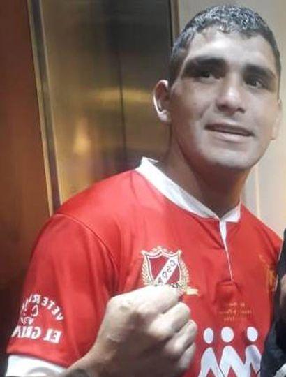 """Sergio Mauricio """"Chelo"""" Carabajal pelea esta noche ante su público, frente al linqueño Leguizamón."""