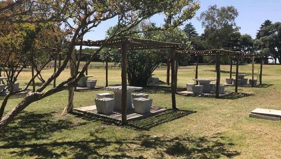 Parque Balneario en Los Toldos.