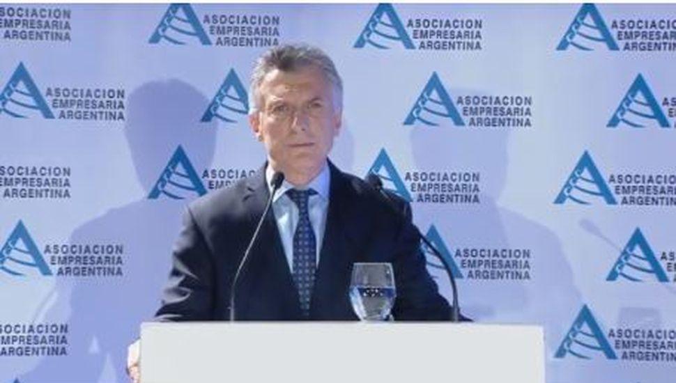 """Mauricio Macri, ante empresarios: """"Hemos cometido errores y dado pronósticos que no se cumplieron"""""""