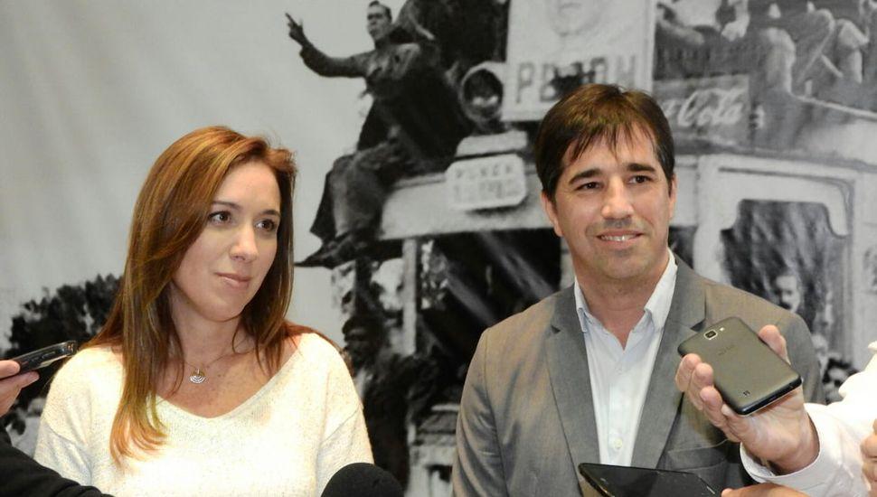 """Vidal en Los Toldos: """"No voy a usar a la Provincia como trampolín"""""""