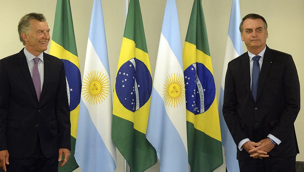 """Macri, junto a Bolsonaro: """"Nos eligieron porque querían un cambio de verdad"""""""