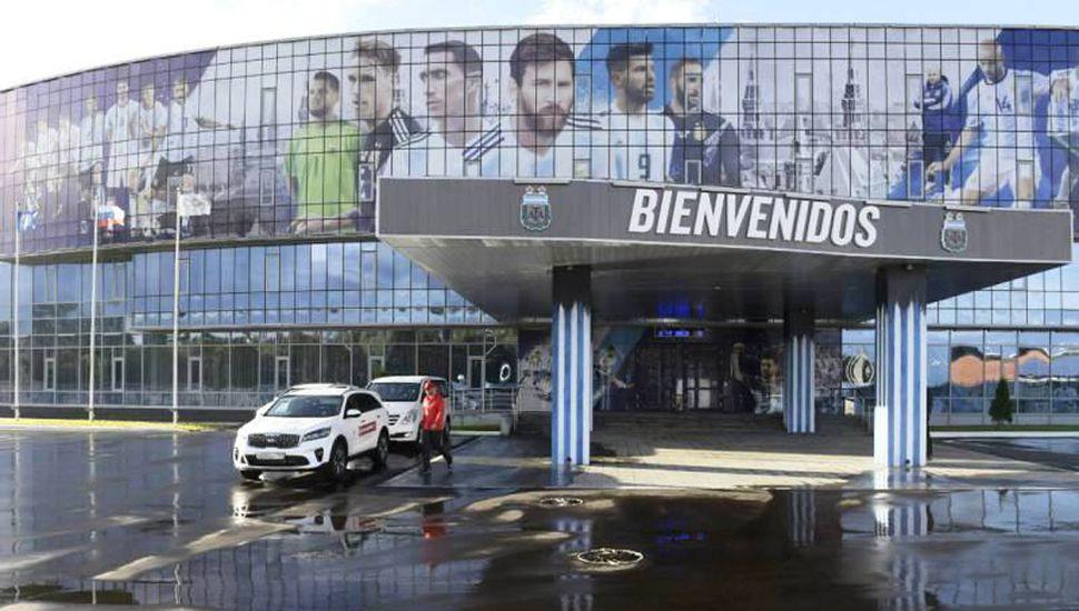 El remozado Bronnitsy Training Center es el lugar de entrenamiento del seleccionado argentino.