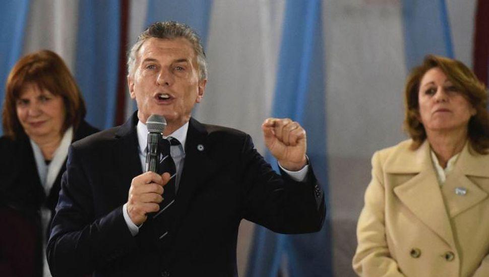 """Macri encendió la campaña: trató de """"mafioso"""" a Moyano"""