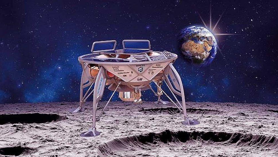 Despegó la primera misión espacial privada que intentará llegar a la Luna