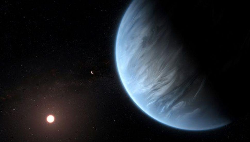 Descubren agua en atmósfera de exoplaneta potencialmente habitable