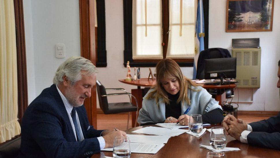 Julio Conte Grand visitó General Arenales