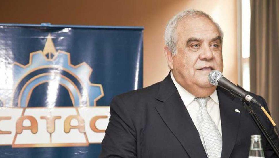 Ramón Jatip, presidente de CATAC.