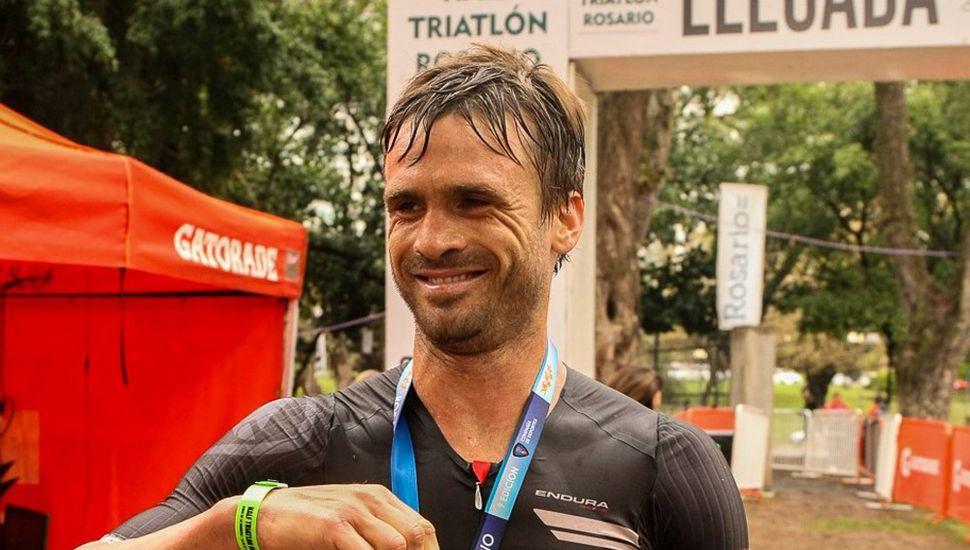 El triatleta Alejo Castellazi compartirá sus vivencias deportivas mañana, en el Facebook Deporte Junín.