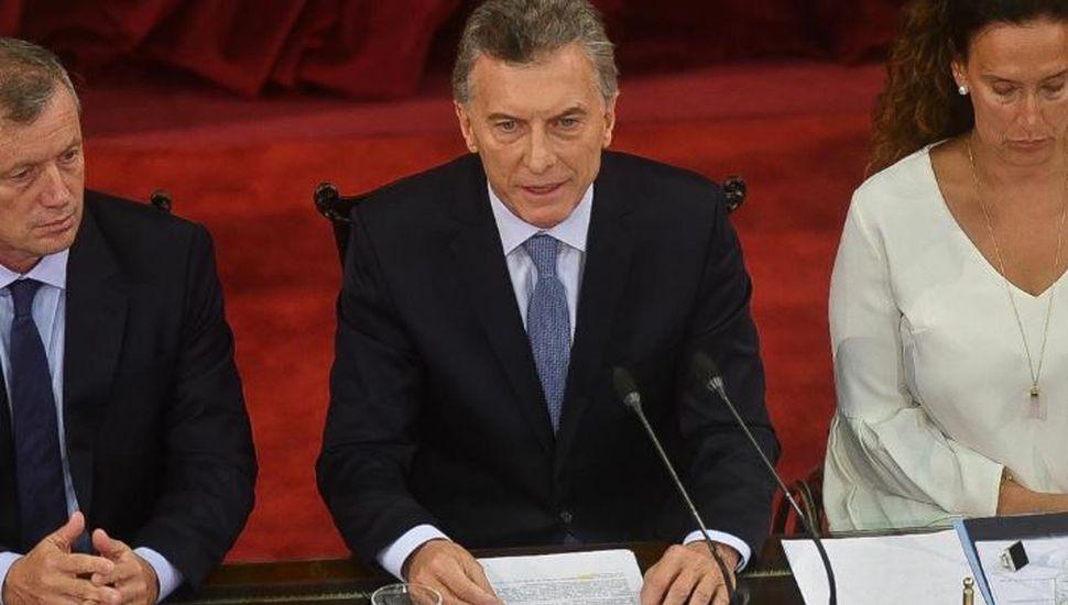 """Macri: """"Estamos mejor parados que en 2015"""""""