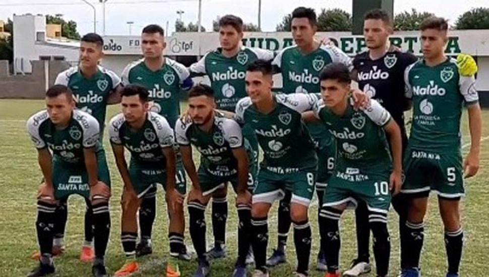 Equipo de Reserva de Sarmiento de Junín que perdió ayer 1 a 0 como local, ante All Boys.